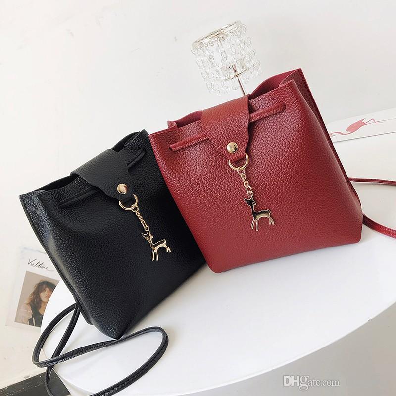 9f0d474e6192 2018 New Pu Female Messenger Bag Women s Handbags Pouch Leisure ...