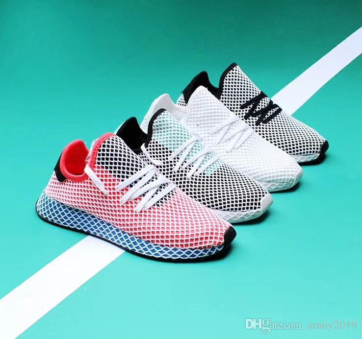 2018 Chaussures Deerupt Runner Pharrell Williams III Chaussures de course à pied Stan Smith Tennis Baskets Sports Mans Baskets pour femme Coureurs