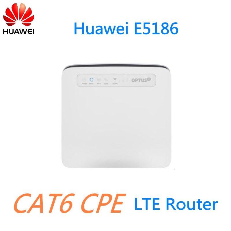 Unlock 300M 4G LTE CPE CAT6 Router Huawei E5186-61A