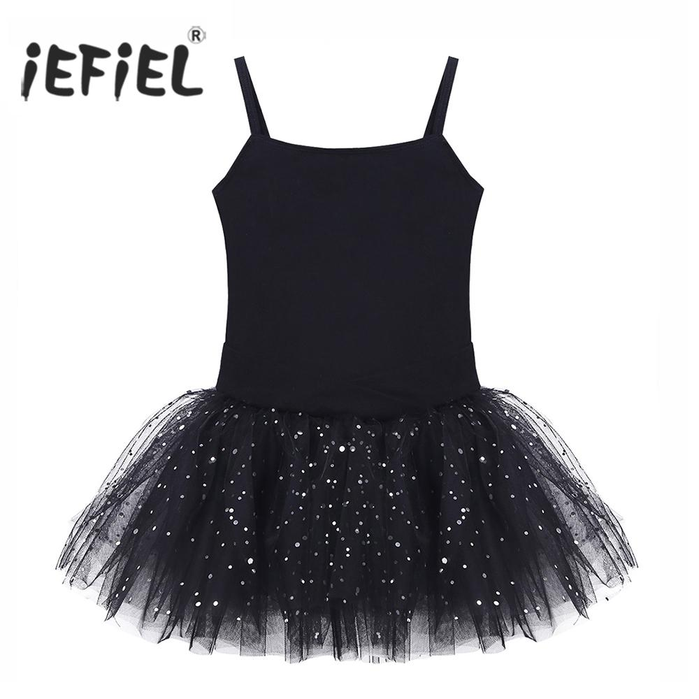 59df49a3d 2019 Kids Professional Ballet Tutu Dress Sleeveless Bowkont Glitter ...