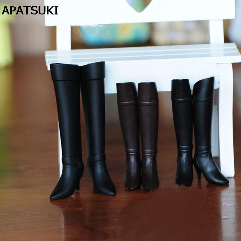 c546337a49f Fashion High Heel Shoes For Blythe Dolls 1 6 Long Boots For Licca Doll Mini  Shoes Momoko 1 6 BJD Doll Accessories Baby Boy Doll Accessories My Girl  Doll ...