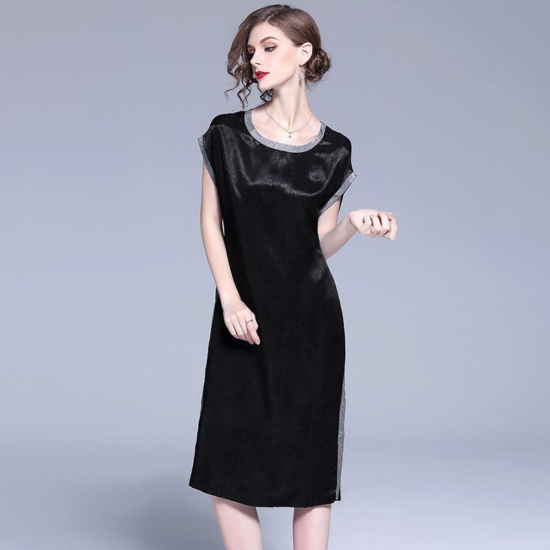 Women Casual Dresses Summer Sleeveless Loose A Line Dress Trend