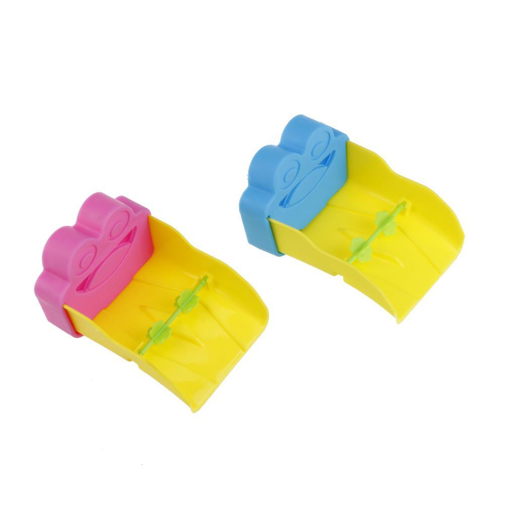 Baby Nette Frosch Extender Für Kinder Waschen Hände Bequem Baby Helfer Bad Waschbecken Wasserhahn Rutsche Extender Bad & Dusche Produkt