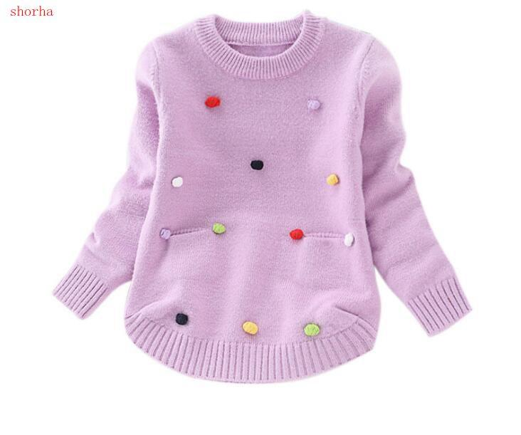 00753efaa Children S Sweaters Pullover Girls Knitted Sweater Autumn Winter ...