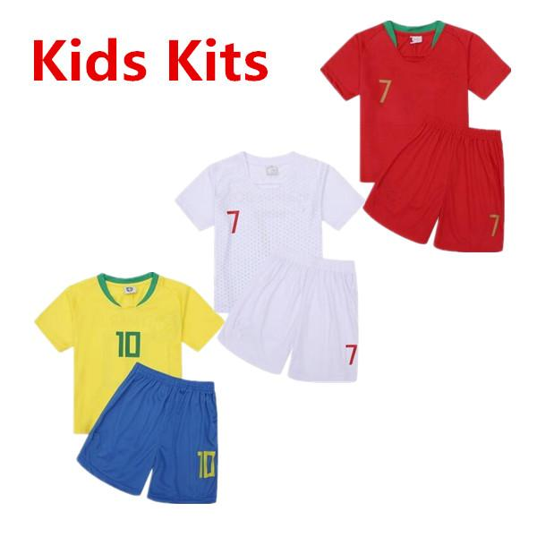 79f314fb607 2019 2018 World Cup Kids Soccer Clothes
