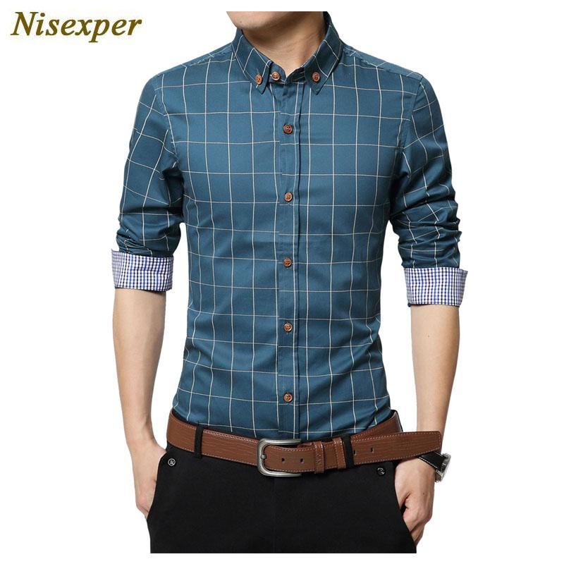 98a80730846 2019 2017 Summer Men S Plaid Shirt New Fashion Brand Clothing Short Sleeve  Shirts Men Good Quality Cotton Casual Male Social Shirt From Junqingy