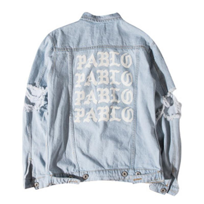 Kanye Album Jean Old West Lavage Veste Do Pablo En Acheter HwfBdf