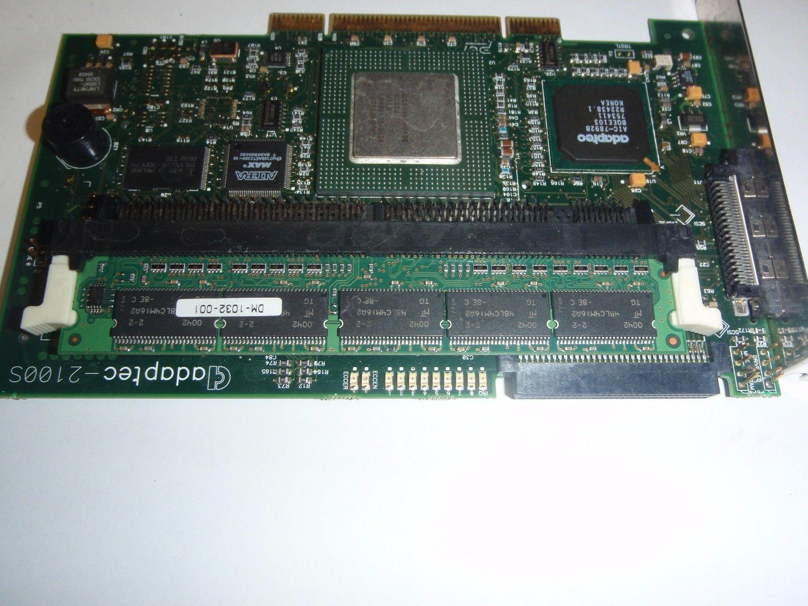 Сервер SCSI raid контроллер ADAPTEC-2100S HA-1320-01-2B
