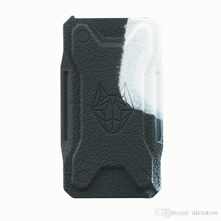 Силиконовые чехлы резиновый рукав защитный чехол кожи корпус для Sigelei Snowwolf XFeng 230 Вт TC Box Mod Снежный волк 230 Vape Pen Kit DHL