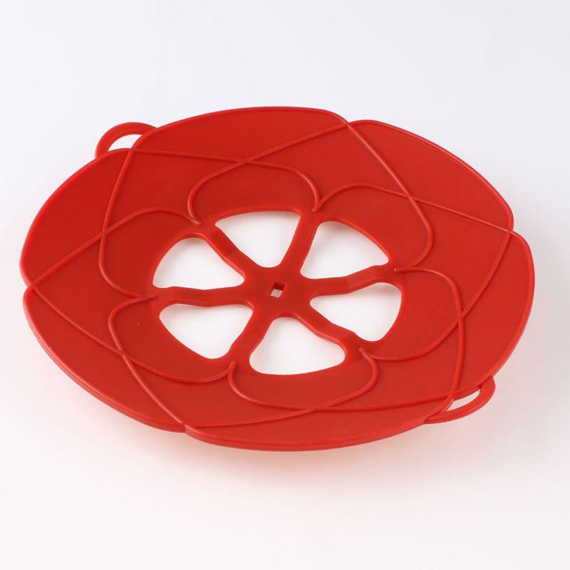 Neue Silikon Spill Cover Schutz Anti-Sweep Deckel Stopper Pfanne Küche Kochwerkzeug Anti-verschütten Deckel Kochen Topf Heißes Utensil Geschenk