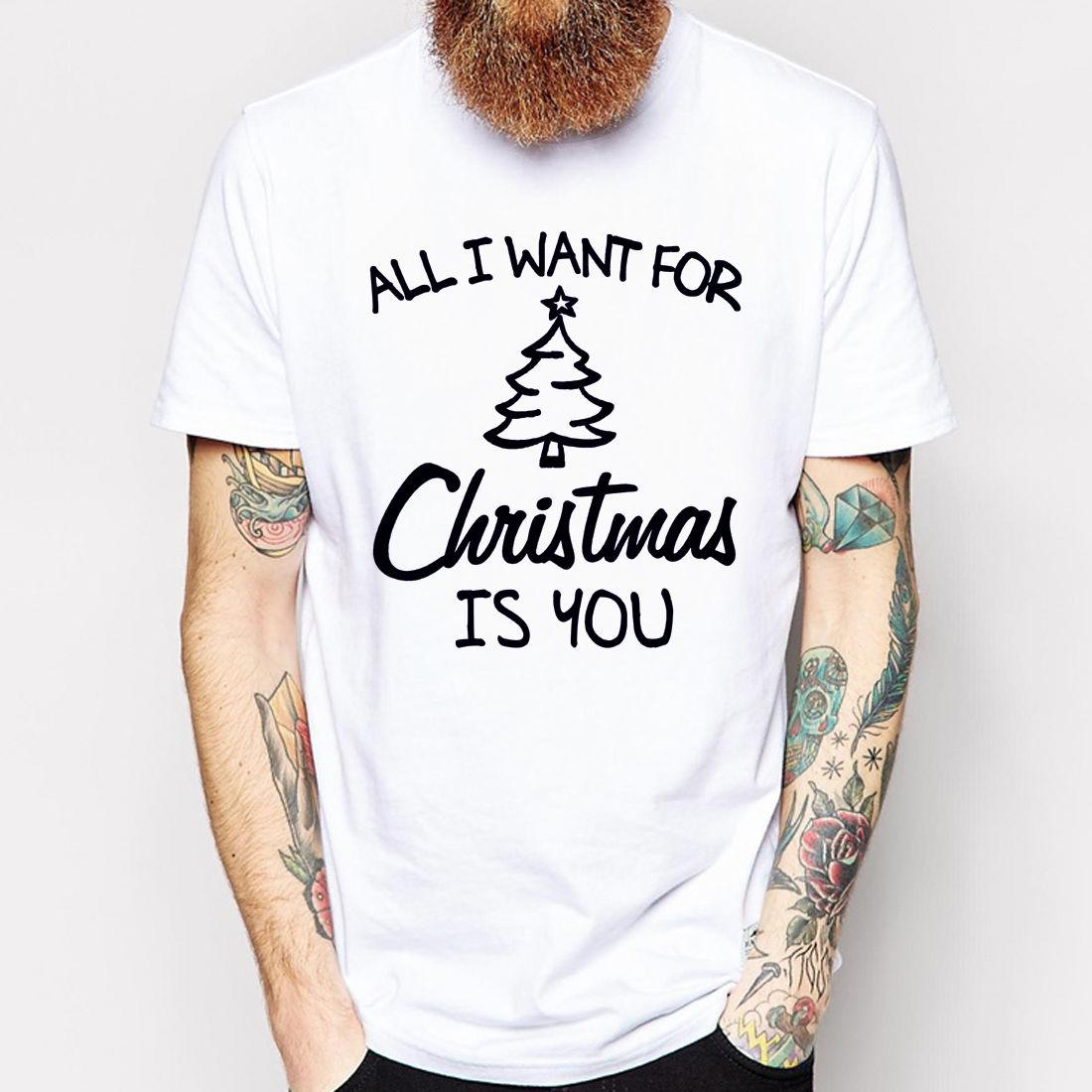 ALL I WANT FOR CHRISTMAS IS YOU Holiday Fashion Designer Party Gift ...