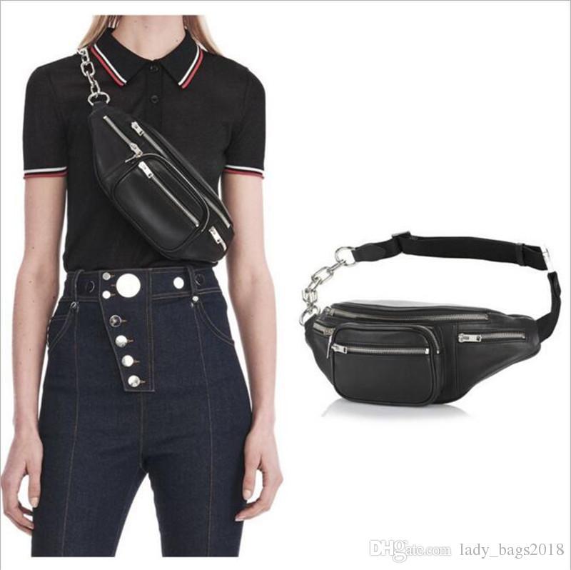 06caee96b87 New outdoor SUP Chest pack Women's Sheepskin Waist Bag Belt Bag Fanny Packs Bag  Waist Pack High Quality Genuine Leather Travel Money Belt