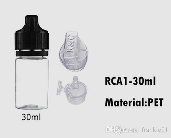 2018 nuovo arrivo 30ml PET eLiquid bottiglia con tappo Diudiu estremità smontabile refill eJuice tendenza calda bottiglia Diu