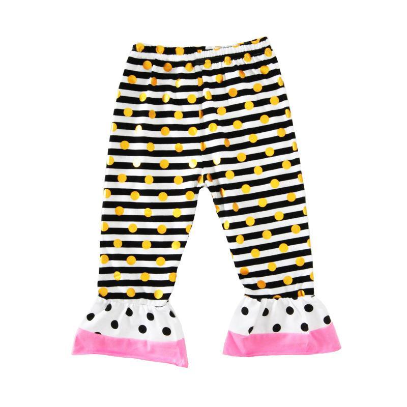 Vêtements pour enfants pour bébés Ensemble de lettres t-shirts Pantalons Bandeaux Ensemble Mode été Fille Enfants Hauts Costumes Boutique Vêtements Tenues BY0122-6