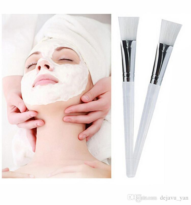Good Facial Mask Brush Kit Makeup Brushes Eyes Face Skin Care Masks Applicator Cosmetics Home DIY Facial Eye Mask Use Tools Clear Handle