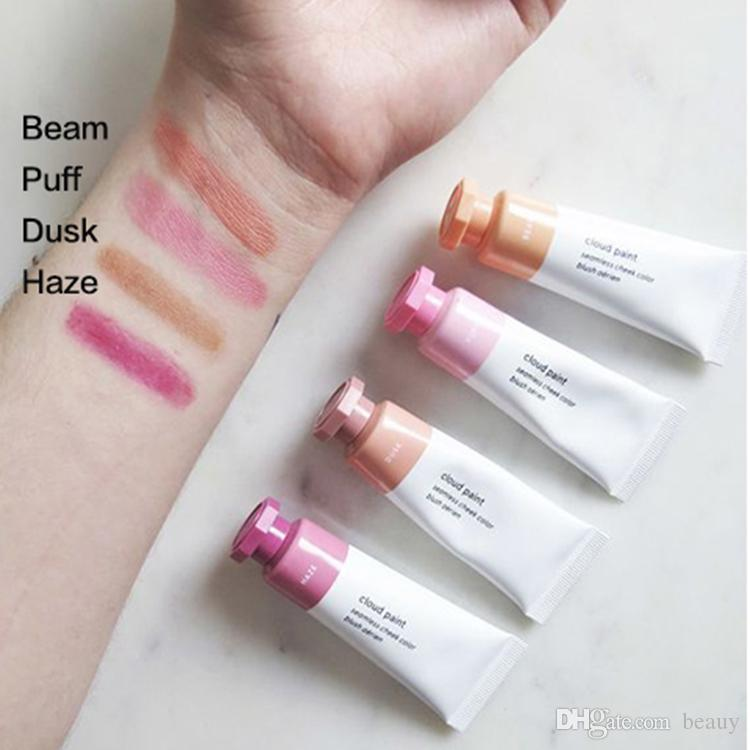 glossier cloud paint putt blush haze beam duck puff liquid blush