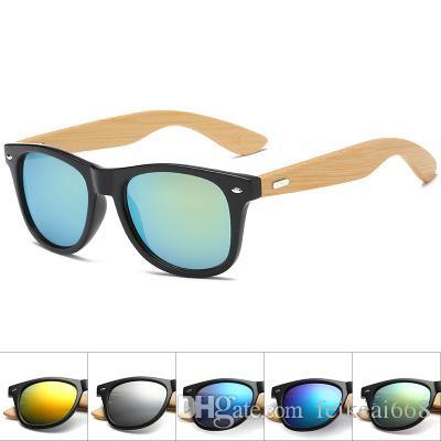 Compre 2017 Moda Gafas De Sol De Bambú Hombres Mujeres Ourdoor Vintage Gafas  De Sol De Madera Gafas De Sol De Verano Retro Drive Gafas De Madera Fresca  ... 28210054e735