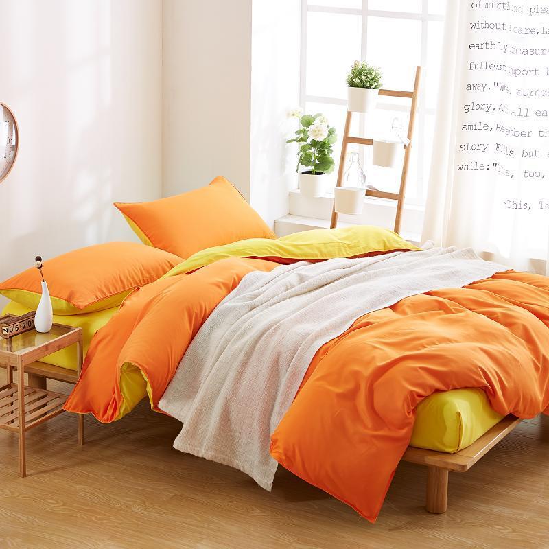 Acheter Maison Textile Solide Literie Ensemble Avec Housse De