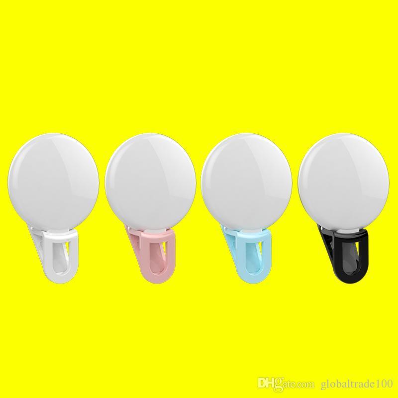 Luce di emergenza a LED auto universale RK17 Luce di riempimento a LED 9 lampade Premium iPhone X / 8/7 Samsung S9 / S8 / S7
