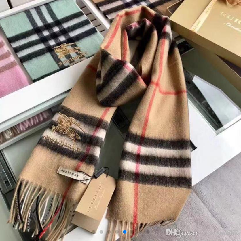2018 Winter Triangle Scarf For Women Brand Designer Shawl Cashmere ... 174680086d
