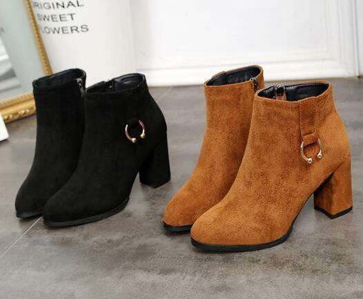 Sexy suede boots