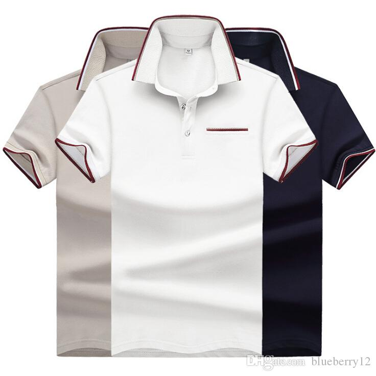 eab9d75c 2019 Mens Business Shirt Slim Fit Short Sleeve Large Size Summer England  Style T Shirt Shirts With Pockets From Blueberry12, $34.37 | DHgate.Com