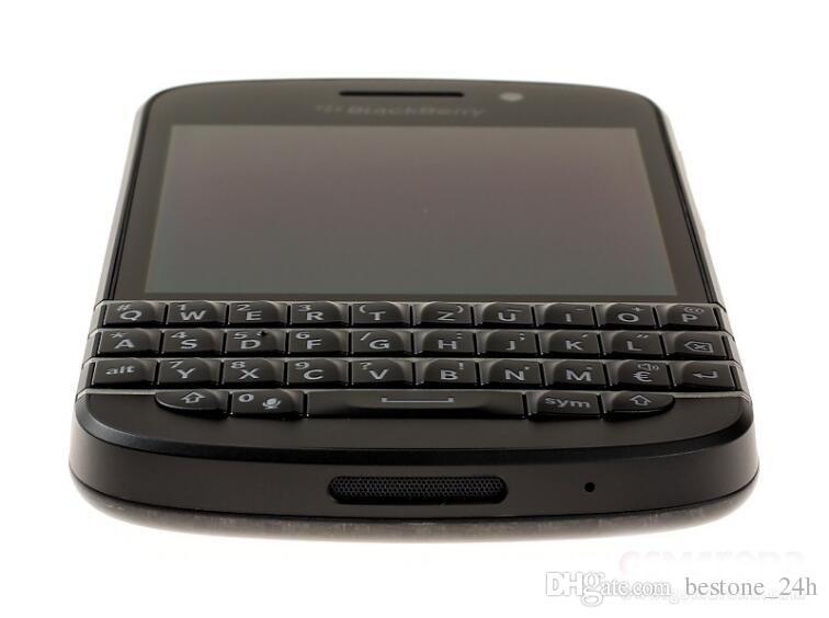 "Original Blackberry Q10 Cell Phone Mobile phone 3.1"" Dual Core 8MP 2GBRAM 16GB ROM 3G &4G GPS WIFI QWERTY refurbished phone"
