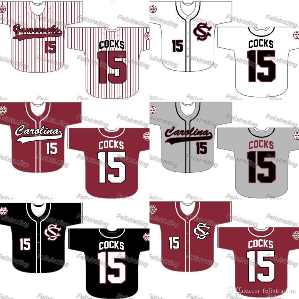 2019 Custom South Carolina Gamecocks Baseball Jersey Women Youth Men White  All Stitched Baseball Jerseys Fast From Felixtrading 51c7e44d6