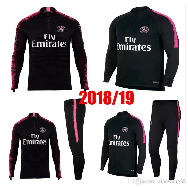 2019 Top 2018 2019 PSG Tracksuit 18 19 Paris MBAPPE JR LUCAS Psg Long  Sleeve Training Suit Football Jacket Kit Training Suit Uniform Chandal From  Xiaowang88 ... 7cf755827