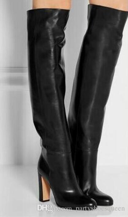 2018 Women Fashion Over Knee High Boots