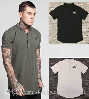 cd42646b3431 2019 US UK Style Summer New Brand Men Polo Shirt SILK SIL Fashion Polo  Shirts Men Short Sleeved Polos From Dongguan wholesale