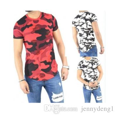 Envío gratuito camuflaje modelo nuevo camisetas fabricantes china deporte al aire libre para hombres camiseta