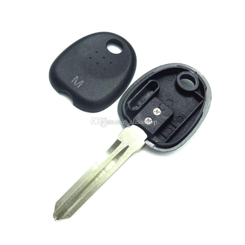 Right Key Blade Transponder Chip Key Shell Case for HYUNDAI Coupe Tucson Elantra Accent Santa Fe
