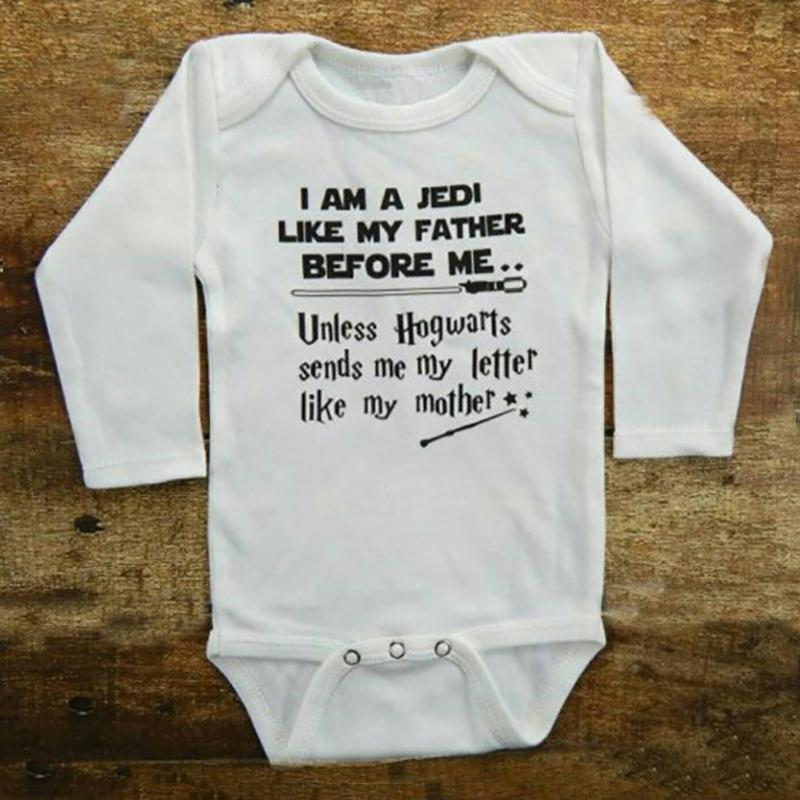 bb042b66ec3ad Infant Baby Boy Girl Clothes 2018 Funny LIKE MY FATHER Tiny Cottons Autumn  Long Sleeve Baby Bodysuit Newborn Onesie 0-18M