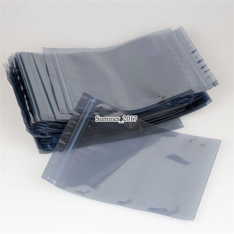 En Antistatik Çanta ESD Anti-statik Çanta Statik-Ücretsiz Elektronik Ambalaj Poli Çanta Plastik Koruyucu Ambalaj Kılıfı 13 * 18cm