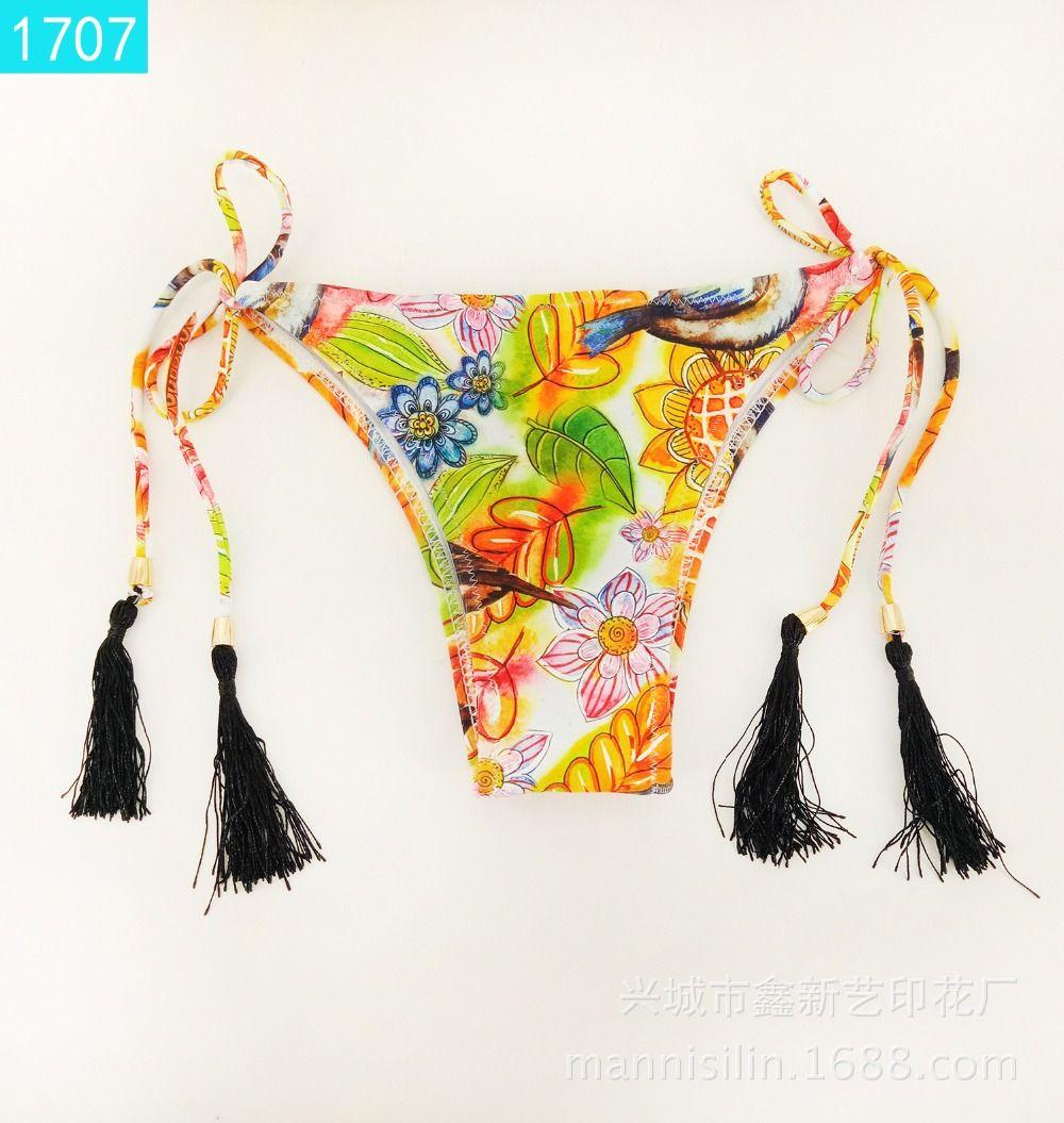 444fb078545 2019 2018 New Sexy Thong G String Solid 10 Style Brazilian Swimwear ...