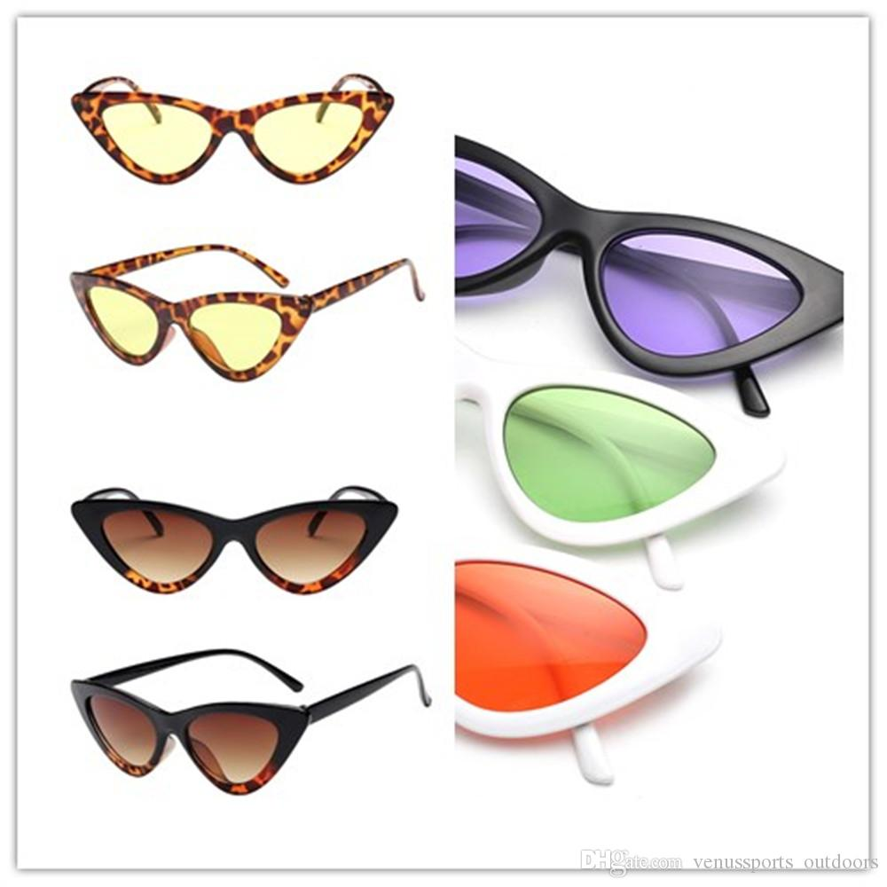 adb26f8ebb New Luxury Triangle Sunglasses Women Fashion Cat Eye Lady Sun Glasses Brand  Designer Small Frame Eyewear Luxury Triangle Sunglasses Cat Eye Sunglasses  Small ...