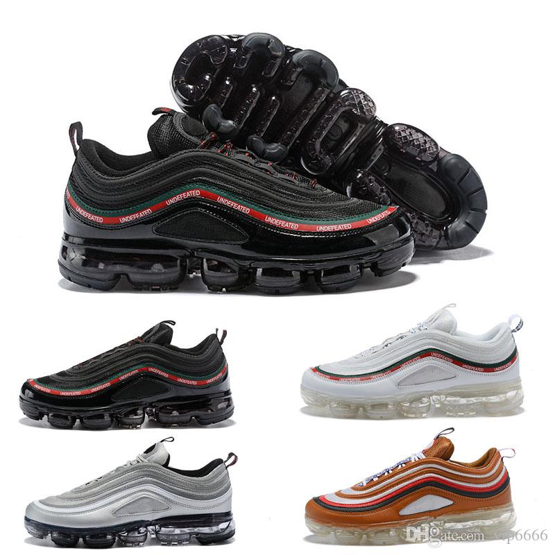 websites hot Vapormax 97 OG Bullet Running Shoes 2018 Men Women Cushion Undefeated Silver Metallic Gold Sports Athletic Run Shoes Outdoor Sneaker for cheap for sale ltLyWE