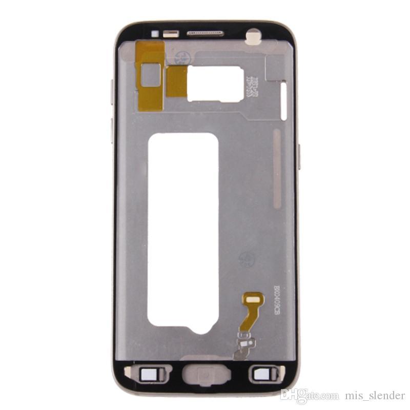 Checked For Samsung Galaxy S7 G930 G930F G930P G930U/A/V/T/I/K//S/W/R/FD Middle frame Rear Housing Midframe Bezel Chassis Plate