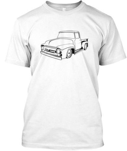 1953 56 Ford F 100 F100 Pickup Truck Mens Graphic T Shirt Summer New