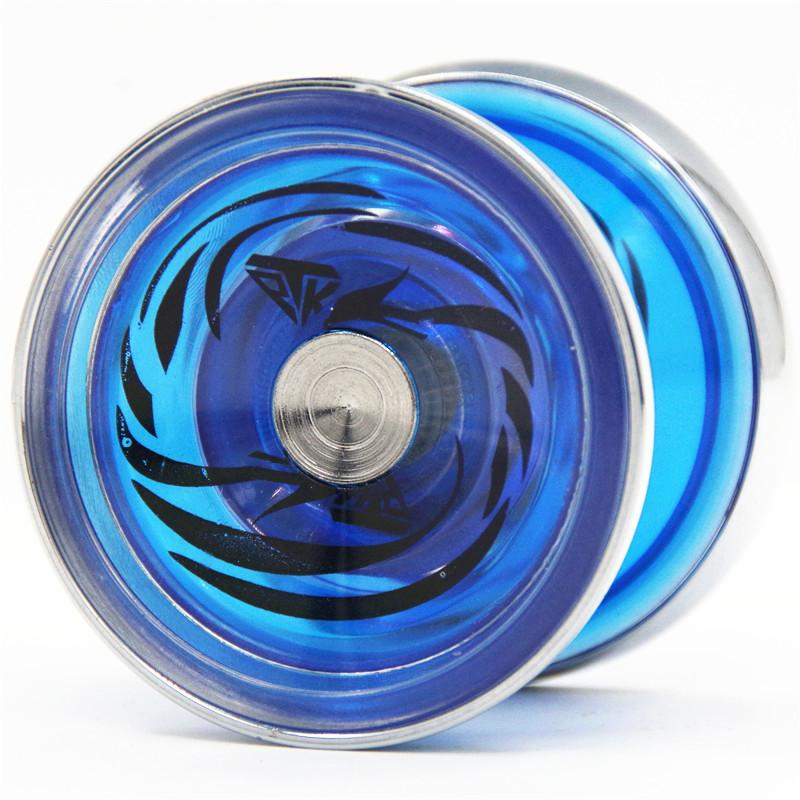 YOYO TPK Ice crystal Phoenix yoyo V5 CNC metal ring Yoyo for Professional yo-yo player Metal and plast Material Classic Toys