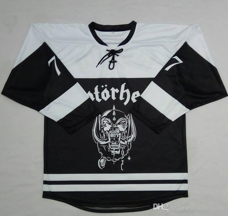 2019 Vintage MOTORHEAD 48 LARGE Lemmy Kilmister Hockey Jersey Embroidery  Stitched Customize Any Number And Name Jerseys From Luolong008 b58a61a6d