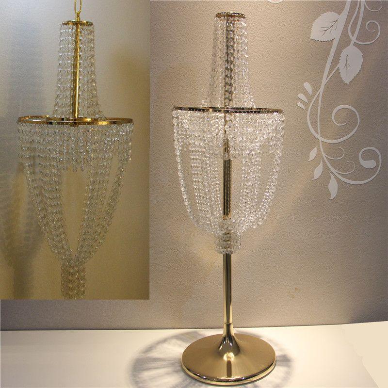 2018 Wedding Ceiling Chandelier Decor Table Centerpieces Flower Vase