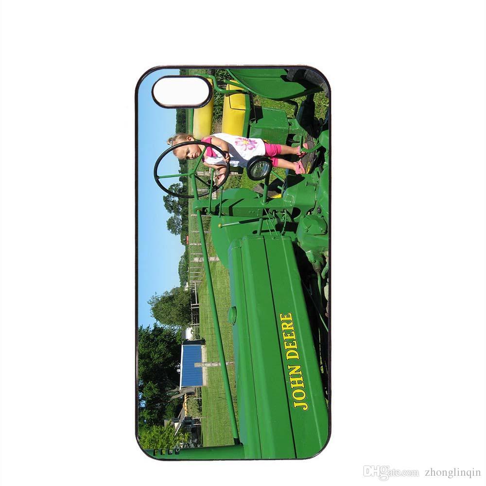 buy popular 67b5c 073fb Cheap John Deere Tractor Phone Case For Iphone 5c 5s 6s 6plus 6splus 7  7plus Samsung Galaxy S6 S7e