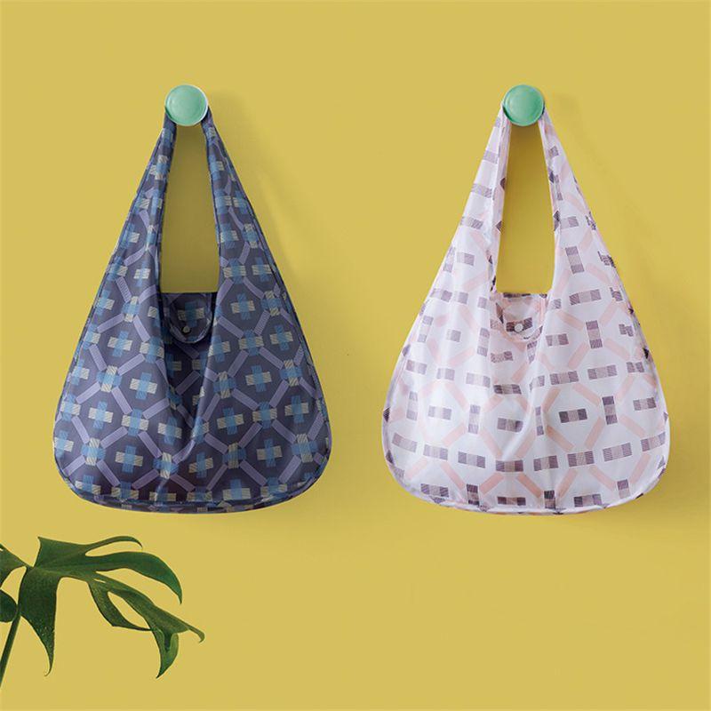 PACGOTH полиэфир 210D Охрана окружающей среды хозяйственные сумки супермаркета складной экологический сумка Specoal назначения сумки 1 ПК