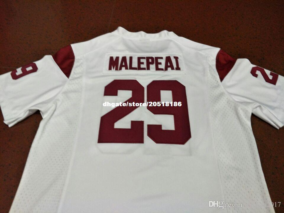 464c296fef0 2019 Cheap Men #29 VAVAE MALEPEAI USC Trojans Alumni College Football  Jersey NCAA XS 6XL Or Custom Any Name Or Number Jersey From Xiaocai2017, ...