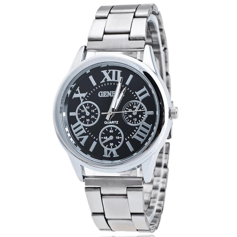 15 Fake Watch Splendone Three 41 New com Steel White Quartz Geneva Dhgate Online From Wrist Eye Best