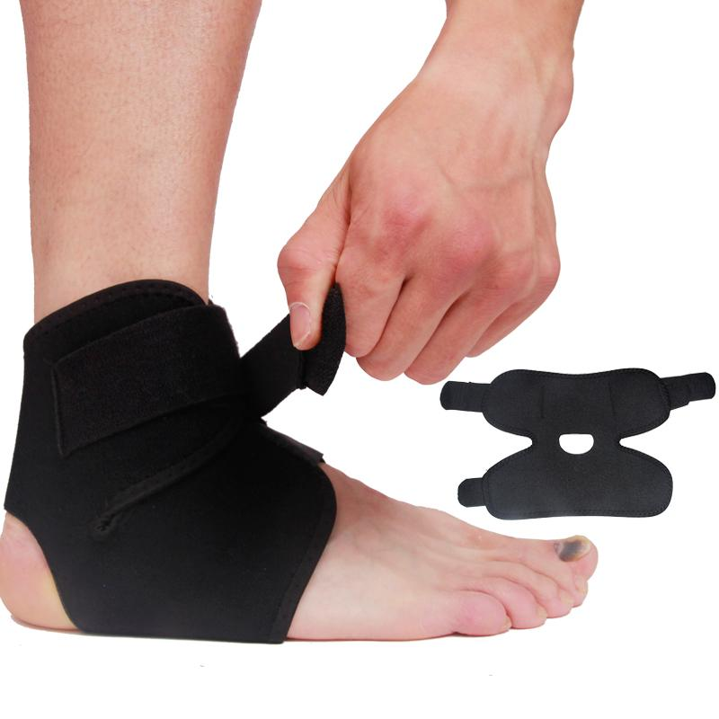 Black Basketball Adjustable Ankle Foot New Guard Hot Brace 2016 Support Elastic 1Pcs Football Fashion