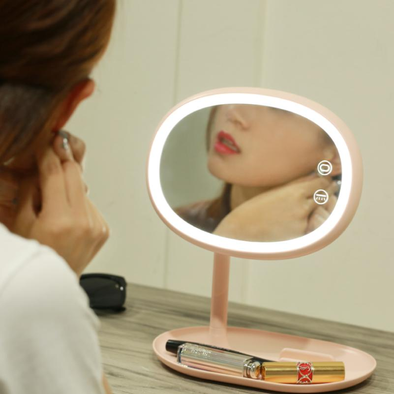 Minimalist 2018 Touch Screen Led Makeup Mirror Light Usb Charging 50leds Desk Lamp Professional Health Beauty Facial Cosmetic Mirror Lights From Jun5465 Awesome - Modern touch lamp In 2018