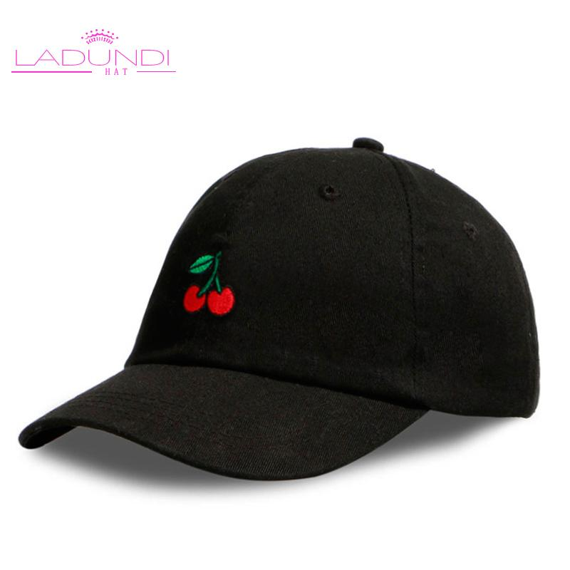 a9fae39259a 2018 New Arrival Dad Hat Leisure Fresh Fruit Cap Embroidery Hat Strawberry  Banana Cherry Orange Peach Baseball Cap For Women Zephyr Hats Kids Hats  From ...